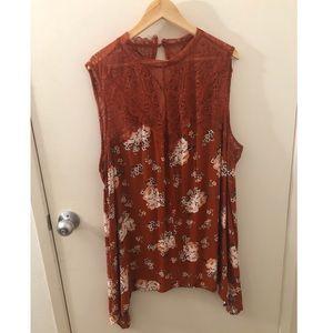 Lightly worn Torrid blouse 3x